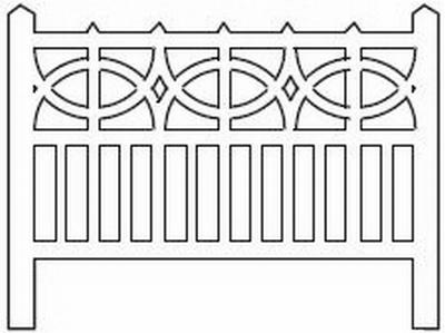 Barrières béton 106 type PO