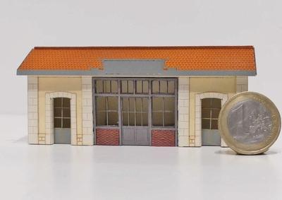 Abri de quai type PLM « Saint Désert »