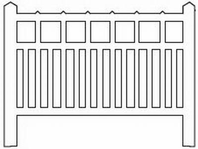 Barrières béton 91 type unifié