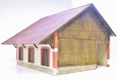 Halle 3 portes type PLM Forez « La Chaise-Dieu »