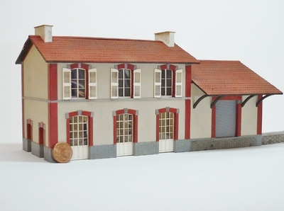 BV + halle 1 porte type Etat « Chatillon en Vendelais »