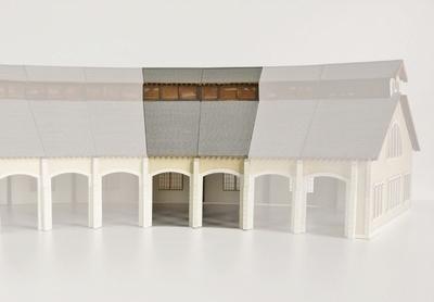 Complément  2 stalles rotonde type PO «St Sulpice Laurière»