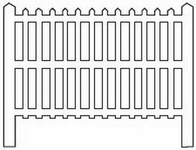 Barrières béton 109 type PLM