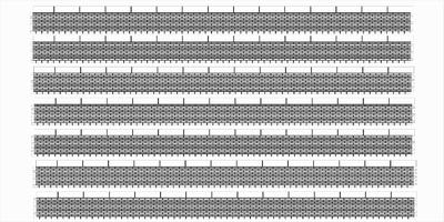 Bordures de quai briques sans descente