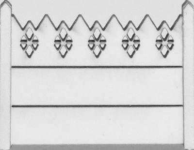 Clôture haute béton 01 type CP Portugal