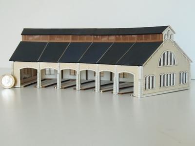 Kit de Base 6 stalles rotonde PO « St Sulpice Laurière »
