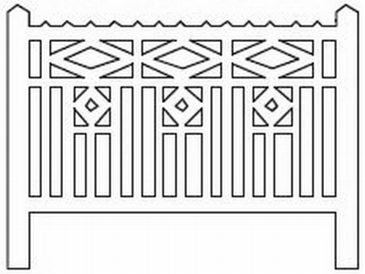 Barrières béton 115 type PO