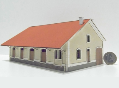 Halle 4 portes type Midi « Ax-les-Thermes »