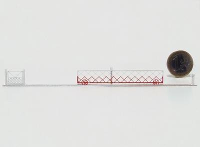 Barrières roulantes + portillons pour PN 6m