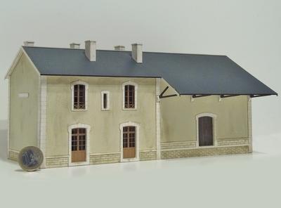 BV 2  portes + halle type PO « Lugarde Marchastel »