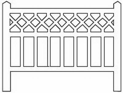 Barrières béton modèle 10 type Est