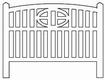 Barrières béton 114 type Baie de Somme « Cayeux »