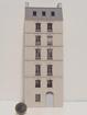 Immeuble fond de décor 6 étages 106