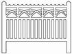 Barrières béton 105 type PO