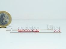 Barrières roulantes + portillons pour PN 4m (x2)