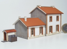 BV 2 portes + annexe type PLM + WC « Jonchères »