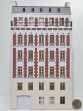 Immeuble fond de décor 6 étages 111