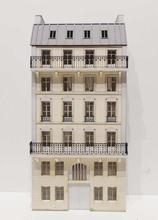 Immeuble fond de décor 6 étages 102