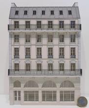 Immeuble fond de décor 6 étages 107