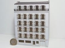 Immeuble fond de décor 6 étages 612