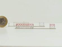 Barrières roulantes + portillons pour PN 4m