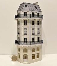 Immeuble d'angle fond de décor 6 étages  113