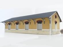 Halle 4 portes type PO « Vieilleville »