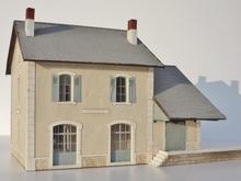 BV + halle 1 porte type Midi « Sainte-Eulalie de Cernon »