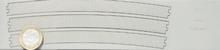 2 longueurs R604,4 pour voie noyée normale courbe