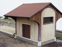 Halle Chemins de fer de la Banlieue de Reims « Fismes »