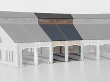Complément  2 stalles rotonde PO « St Sulpice Laurière »