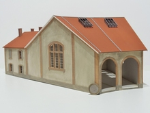 Rotonde type Midi 2 stalles + dortoir « Aguessac »