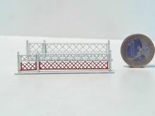 Barrières pivotantes + portillons pour PN 4m