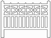 Barrières béton modèle 17 type PO