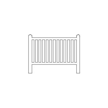 Barrières béton 94 type unifié « Najac »