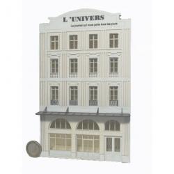 Immeuble fond de décor « L'Univers » 112 (-HO-)