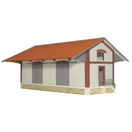 """Halle 2 portes """"EST"""" type « Gare de Semuy » (-HO-)"""