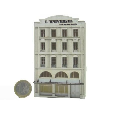 Immeuble fond de décor « L'Universel » 112 (-N-)