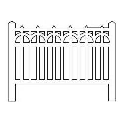Barrières béton 95 type Ceinture (-HO-)