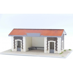 "Abri de quai PLM type gare de ""Costaros"""