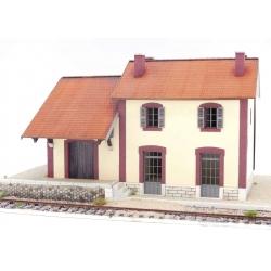 """BV + halle 1 porte """"PLM"""" type «Gare Saint-Sauveur la Sagne » (-HO-)"""