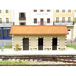 """BV des Chemins de fer Départementaux de la Haute Vienne, """"Gare de Sereilhac"""" (-HO-)"""