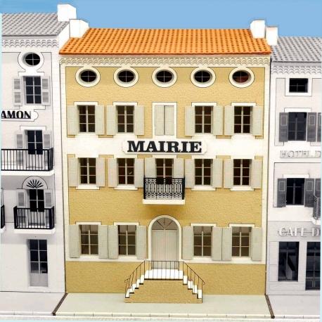 """IMMEUBLE DE VILLAGE POUR FOND DE DECOR """"MAIRIE"""" -COTE SUD- (-HO-)"""