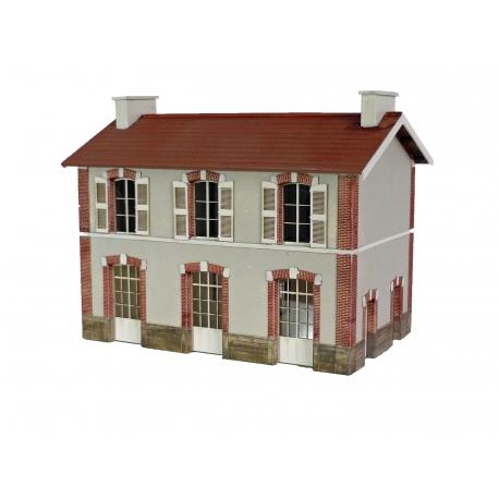 "BV 3 portes ""ETAT"" type «Gare de Plouasne » (-HO-)"