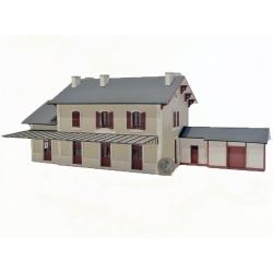 """BV 3 portes + annexe """"PO"""" type « Gare de Vieilleville » (-HO-)"""