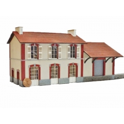 "BV + halle 1 porte ""ETAT"" type « Gare de Chatillon en Vendelais » (-HO-)"