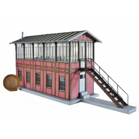 """Poste d'aiguillages """"NORD"""" type «Gare d'Eu » (-HO-)"""