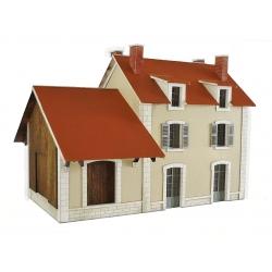 """BV + halle 1 porte """"PLM"""" type « Gare Veuvey-sur-Ouche » (-HO-)"""