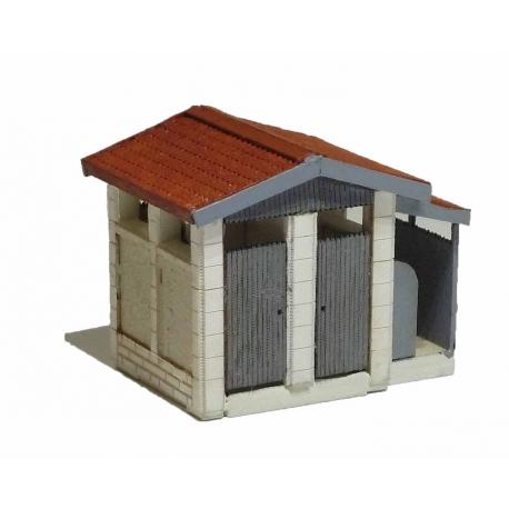 "WC ""PLM"" moyen modèle type « Gare de Saint Désert » (-N-)"