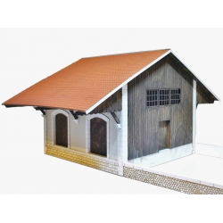 """Halle 2 portes """"PLM"""" type « Gare de Maison-Dieu » (-HO-)"""